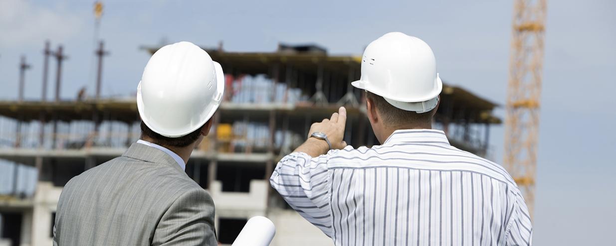 Two construction contractors